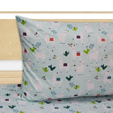Single Kids Bed Sheet - Llama - waseeh.com