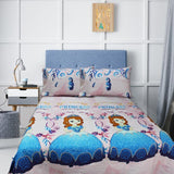 Double Kids Bed Sheet - Young Princesses - waseeh.com