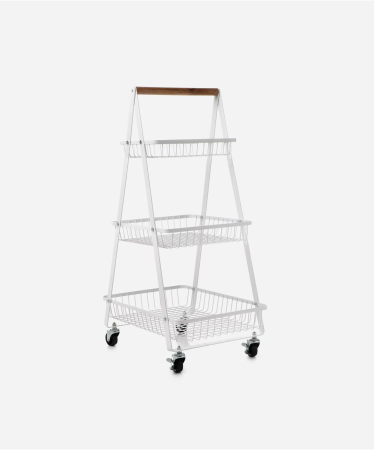 Multi-Function Mobile Trolley Cart (3-Tier) - waseeh.com