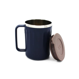 Straight Cut Thin Lines Insulated Mug