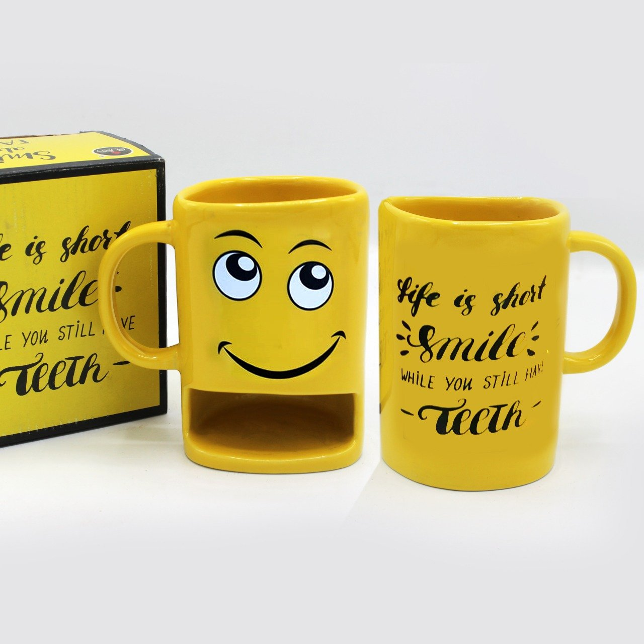 Emoji Multi-Purpose Mug - waseeh.com