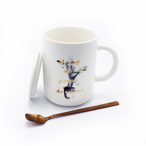 Exquisite Mug - Hang onto your dreams - waseeh.com