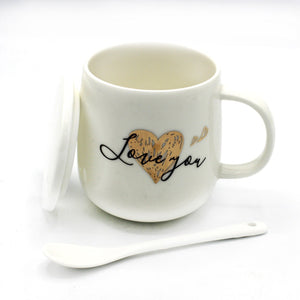 Exquisite Mug - Love You - waseeh.com