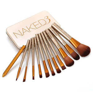 Naked 12'S Box Brush Set in box - waseeh.com