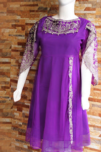 Net with Silk Lining - Pari Style - Ladies - waseeh.com
