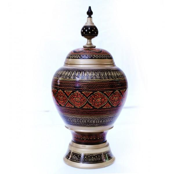 Wooden Pot - Nakshi - 11