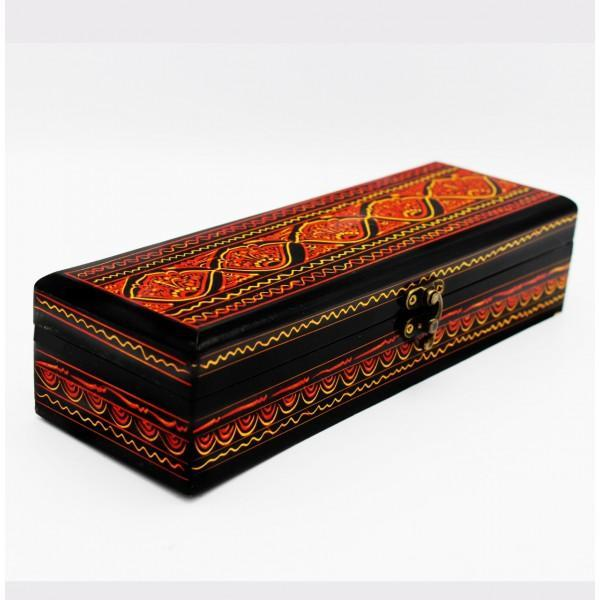 Wooden Hand Made Jewellery Box - Nakshi - waseeh.com
