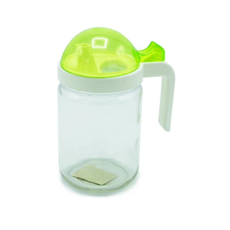 Glass Oil Jug - Moriste - 400ml - waseeh.com