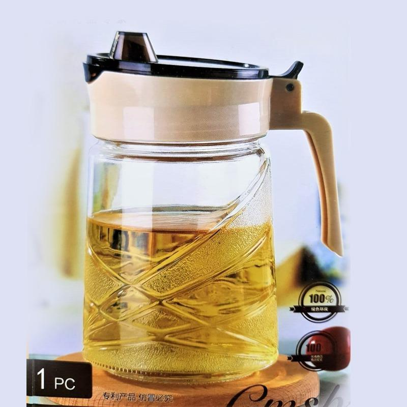 Glass Oil Jug - CMNP - 600 ml - waseeh.com