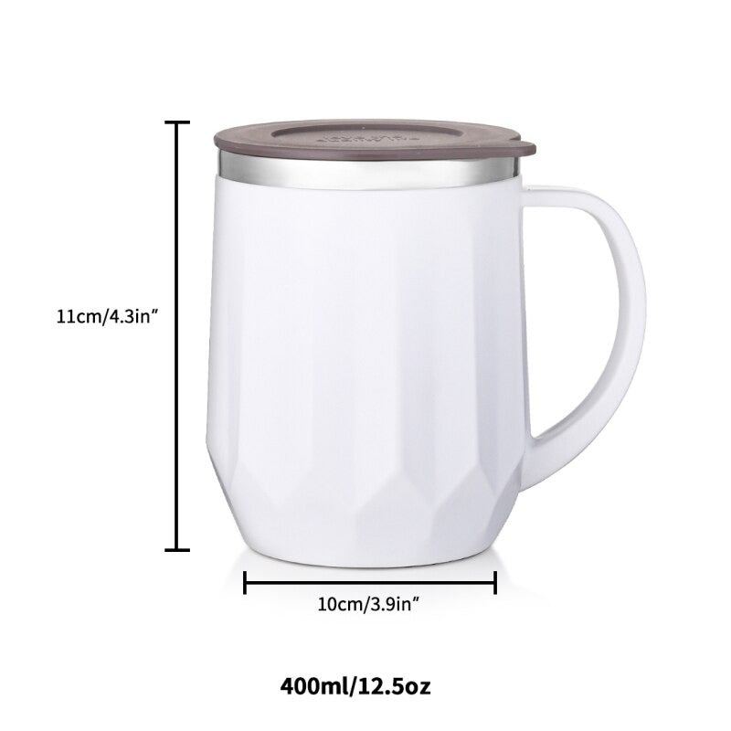 Straight Cut Wide Lines Insulated Mug - waseeh.com