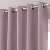 Enticing Poetry Plum Curtain (Textured) - waseeh.com