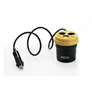 Remax 2 USB Demitasse Car Charger - waseeh.com