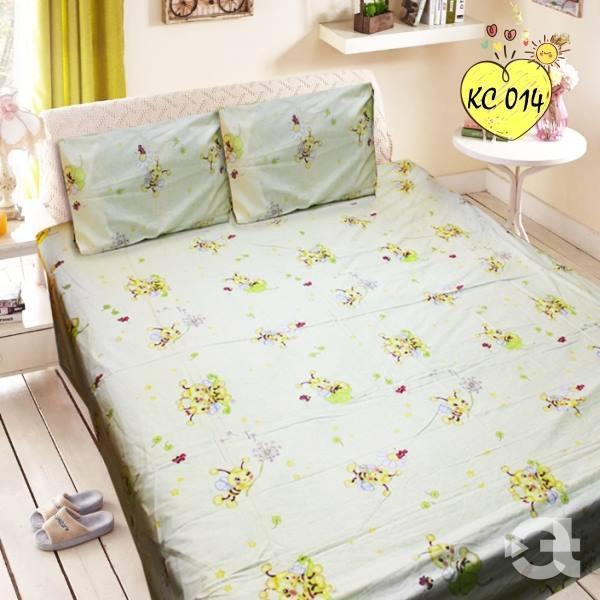 Rich Cotton Double Bed Sheet With 2 Pillow cases - waseeh.com