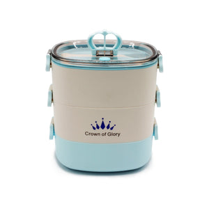 Crown Tiffin Box - Lunch Box - waseeh.com