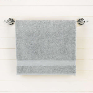 Medium Gray Egyptian Cotton Bath Towel - Single - waseeh.com