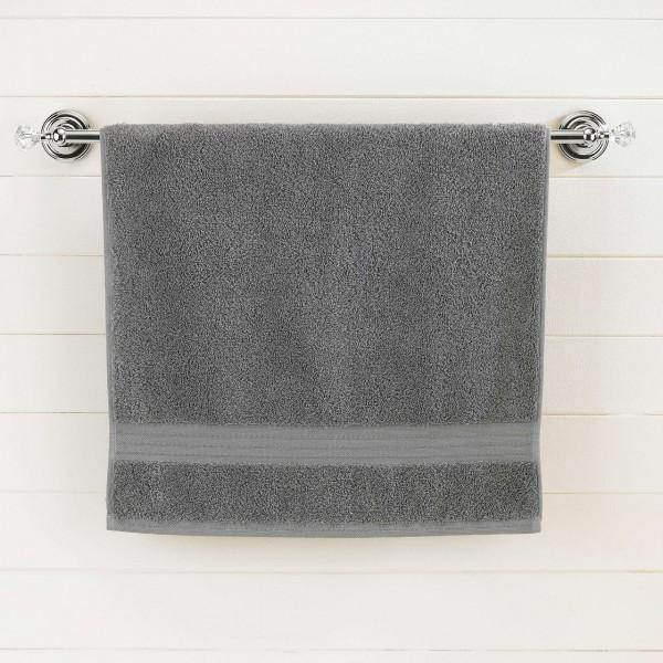 Gray Egyptian Cotton Bath Towel - Single - waseeh.com