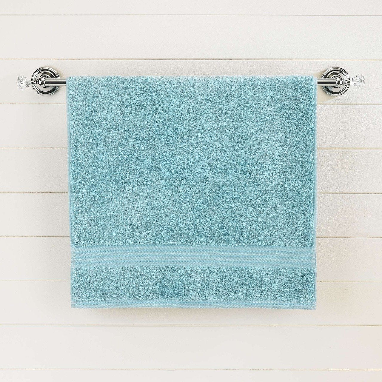 Teal Egyptian Cotton Bath Towel - Single - waseeh.com