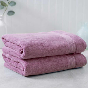 Plum Egyptian Cotton Towel - Pack of 2 - waseeh.com