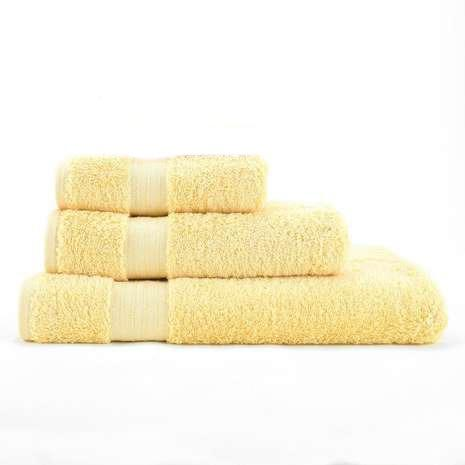 Lemon Egyptian Cotton Towel - Pack of 3 - waseeh.com