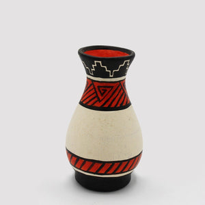 Small Vase - Abstract - Earthen Pot - waseeh.com
