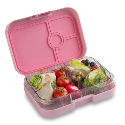 Yumbox madkasse m. 4 rum - Hollywood pink