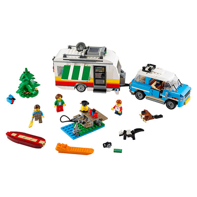 LEGO® Creator 3IN1, Familieferie med campingvogn