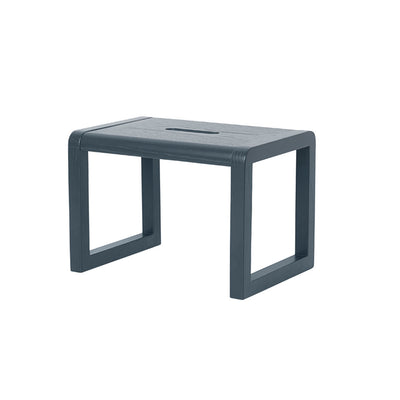 ferm Living børnestol, Little Architect Stool - dark blue