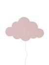 ferm Living væglampe, Cloud - dusty rose
