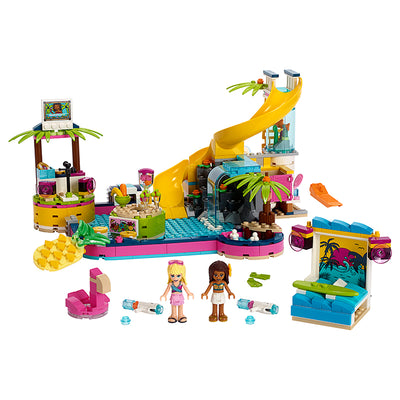 LEGO® Friends, Andreas poolparty