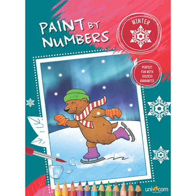 Paint by Numbers malebog, Winter
