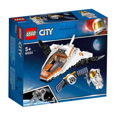 LEGO® City Space Port, Satellitservicemission