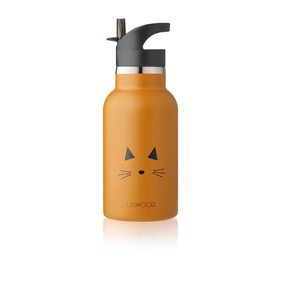 Liewood Anker water bottle, termoflaske - Cat mustard