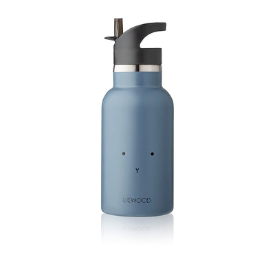 Liewood Anker water bottle, termoflaske - Rabbit blue wave
