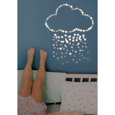 Mimi lou wallsticker, Glow in the dark pellets
