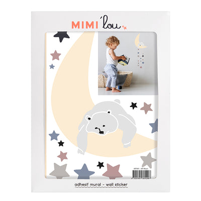Mimi lou wallsticker, Moon