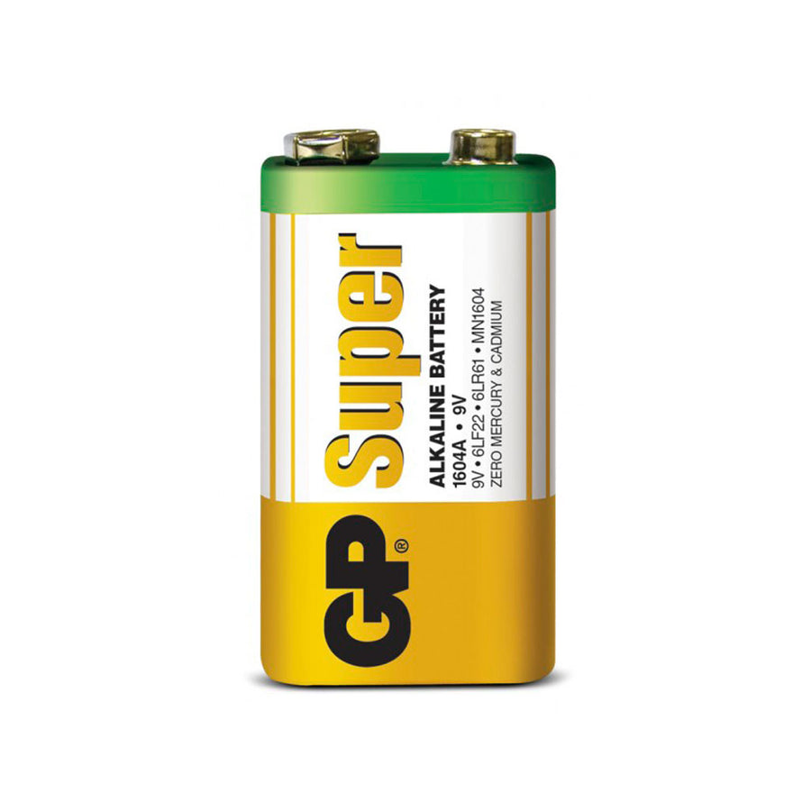 Batteri, GP Super Alkaline 9V 1 stk.