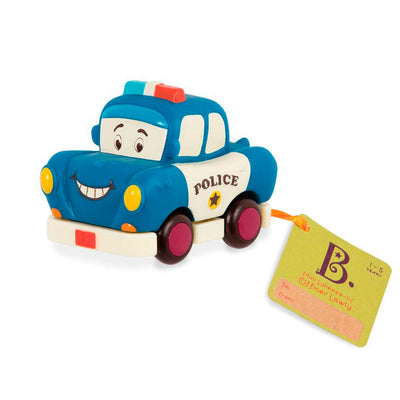 B Toys Mini Wheeee-is, politi bil