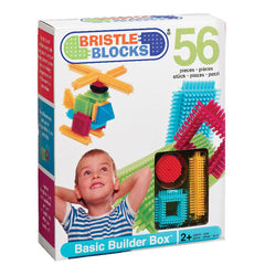 Bristle Blocks samleklodser - 56 stk