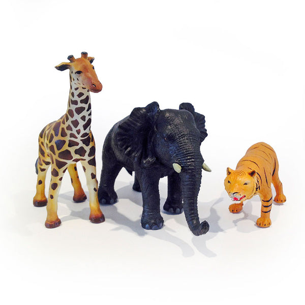 Green Rubber Toys dyr i net, Jungle