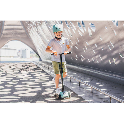 Scoot and Ride Highway Kick 5, løbehjul - LED Steel