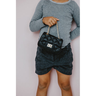 Milk x Soda Ava mini bag, Black