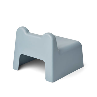 Liewood Harold mini chair i bambus og melamin, Sea blue