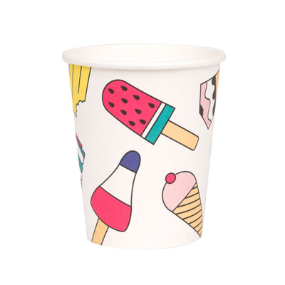 My Little Day papkrus, ice cream - 8 stk