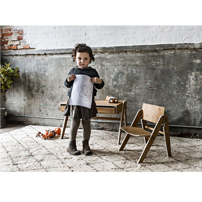 We Do Wood børnestol, Lilly's chair - light grey