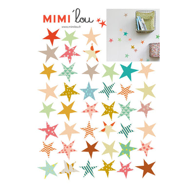 Mimi Lou wallsticker, mini stjerner