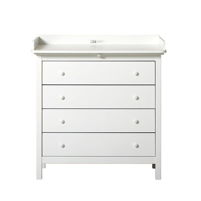 Oliver Furniture Seaside puslekommode m. 4 skuffer