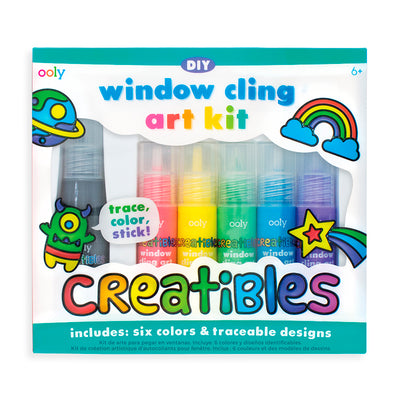 Ooly DIY window art kit, lav-selv vinduesklistermærker