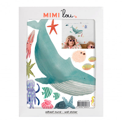 Mimi lou wallsticker, Just a touch - The ocean