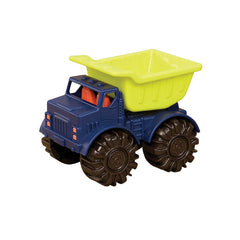B Toys Sand truck, lille lastbil m tippelad - lime