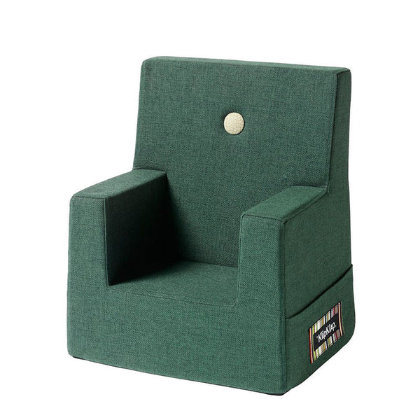 By KlipKlap Kids Chair, Deep green